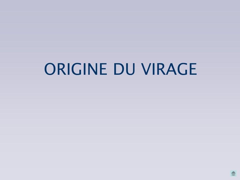 ORIGINE DU VIRAGE