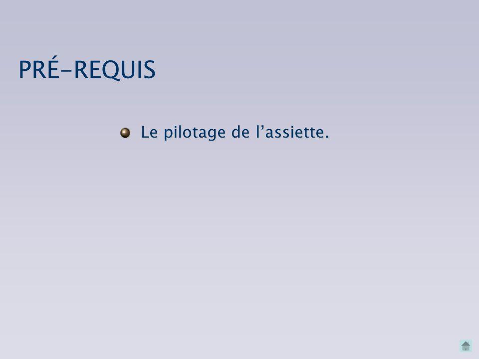 CONNAISSANCES INDISPENSABLES LEÇONS EN VOL PRÉ-REQUIS LA RELATION ASSIETTE/TRAJECTOIRE/VITESSE Bibliographie et références Bibliographie et références