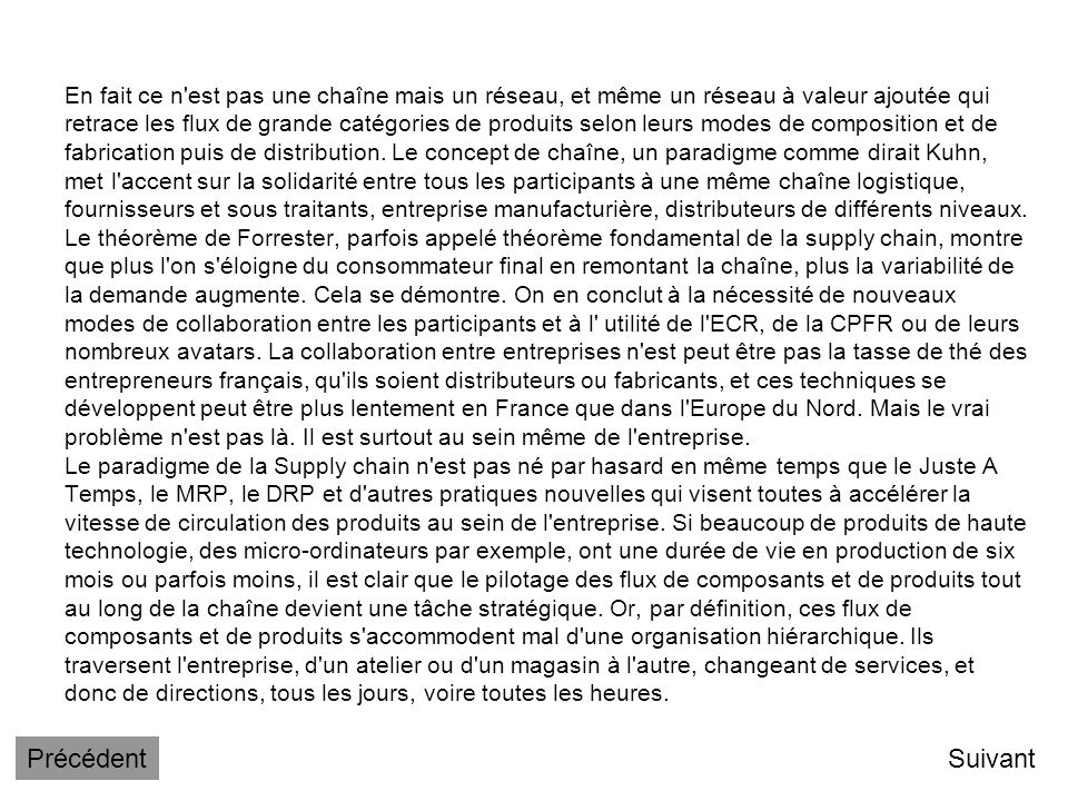 Il y a donc une certaine réticence des entreprises françaises à utiliser ce concept et cela mérite réflexion. Un premier malentendu vient peut être de