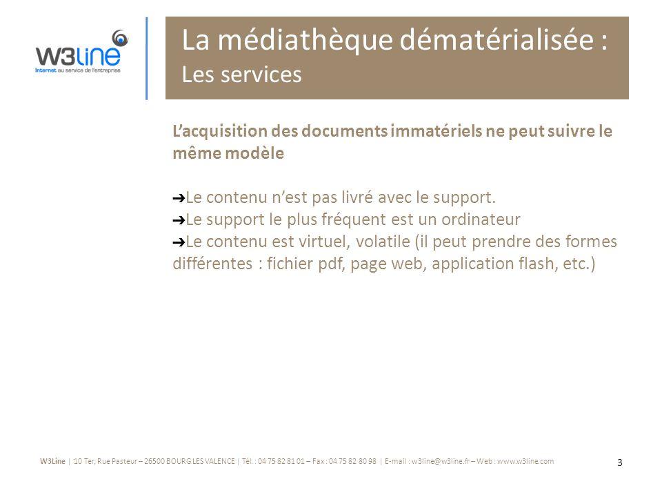 W3Line | 10 Ter, Rue Pasteur – 26500 BOURG LES VALENCE | Tél.
