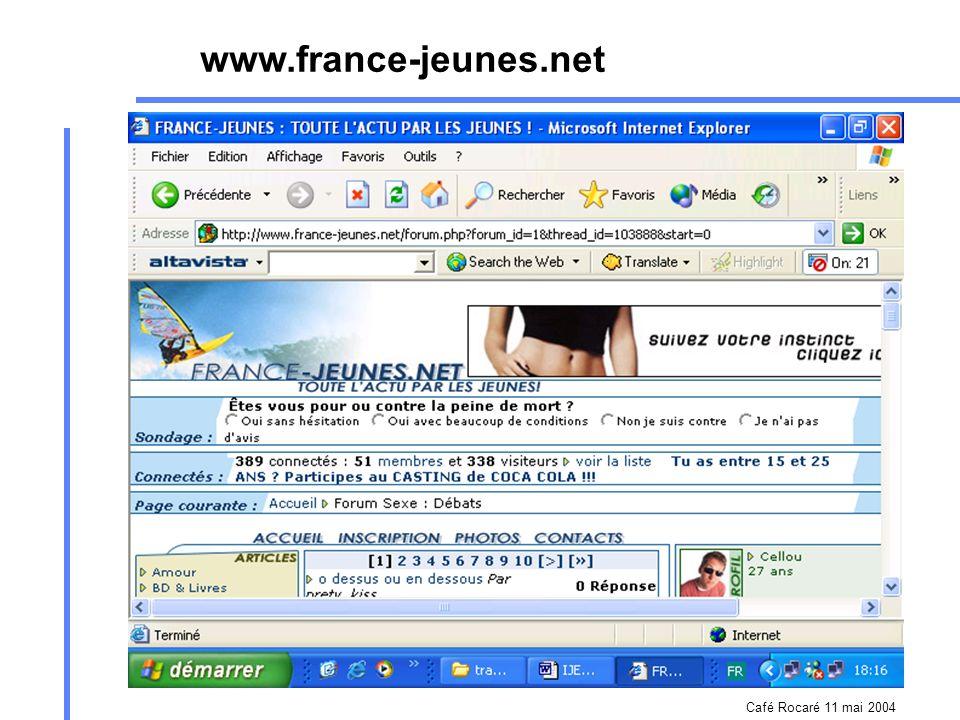 Café Rocaré 11 mai 2004 www.worldbank.org/www.worldbank.org/worldlinks /aidsweb/