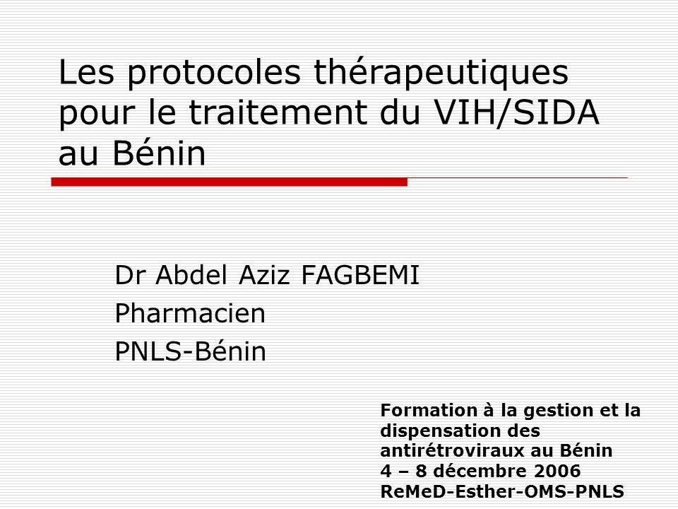 Plan Introduction Protocoles thérapeutiques du SIDA au Bénin Conclusion