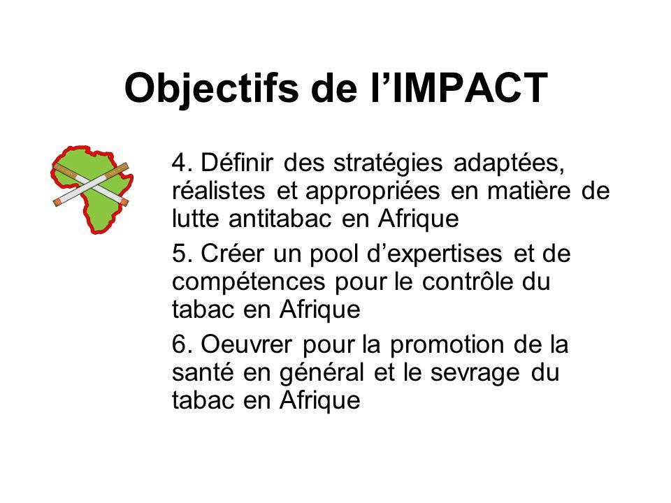 Objectifs de lIMPACT 4.