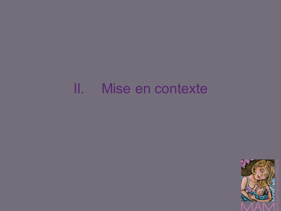II.Mise en contexte