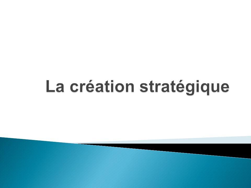 Rappelons dabord que la stratégie de création est rédigée par des administrateurs publicitaires, en collaboration avec un directeur de création (selon la taille de lagence).