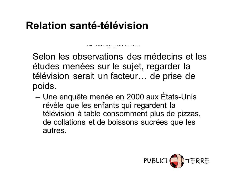 Selon les observations des médecins et les études menées sur le sujet, regarder la télévision serait un facteur… de prise de poids.