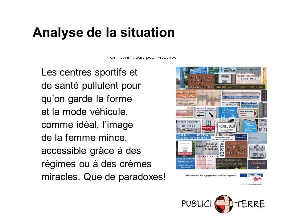 Influencer le monde de la publicité Au Canada anglais, en France, en Norvège, en Suède et au Japon, le groupe Adbusters attaque énergiquement les multinationales, dénonçant leur publicité - www.adbusters.com.