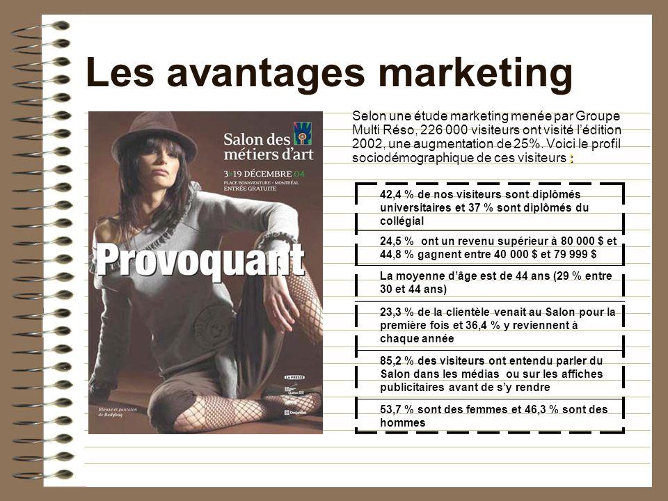 2009 – 54 ans Votre mandat Présenter une stratégie de marketing qui servira à briefer léquipe de concepteurs du Salon, en février 2009.