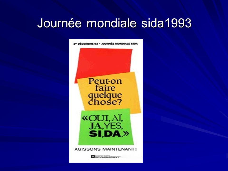 Journée mondiale sida1993