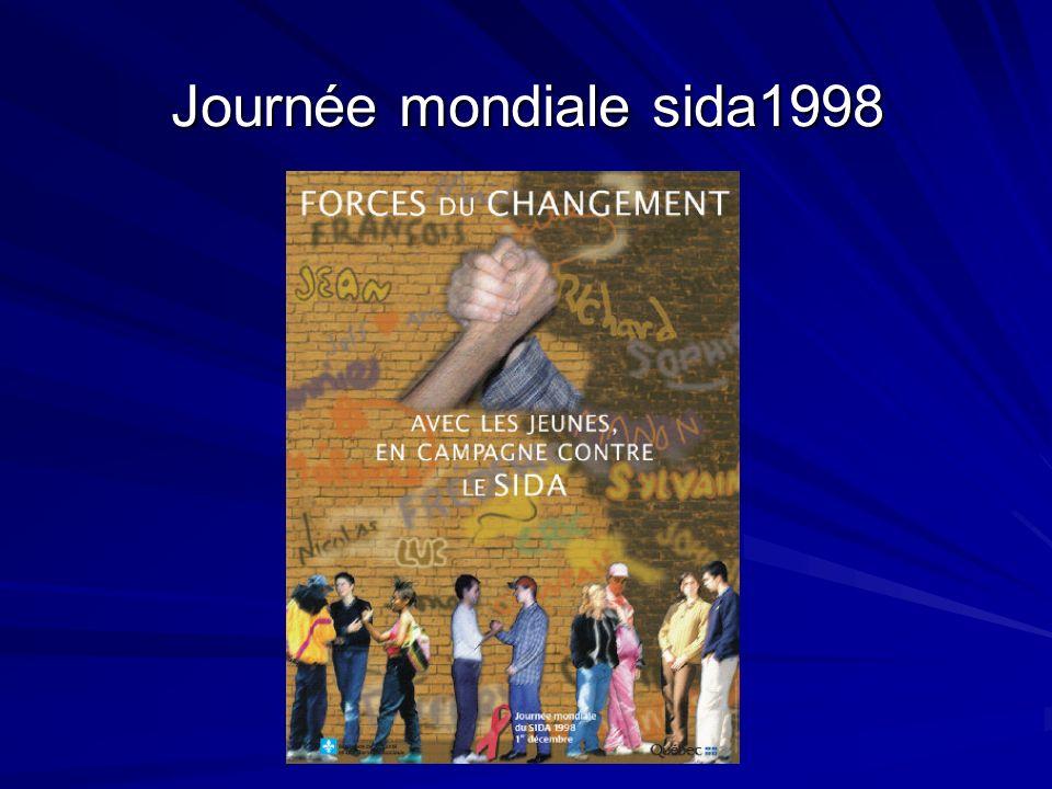 Journée mondiale sida1998