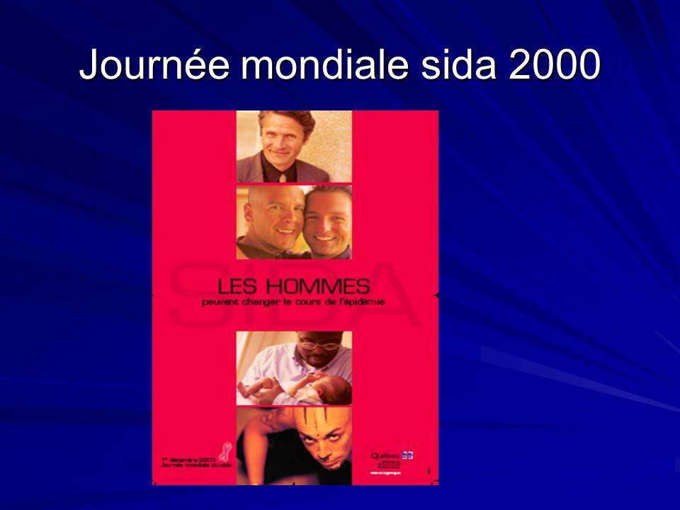 Journée mondiale sida 2000