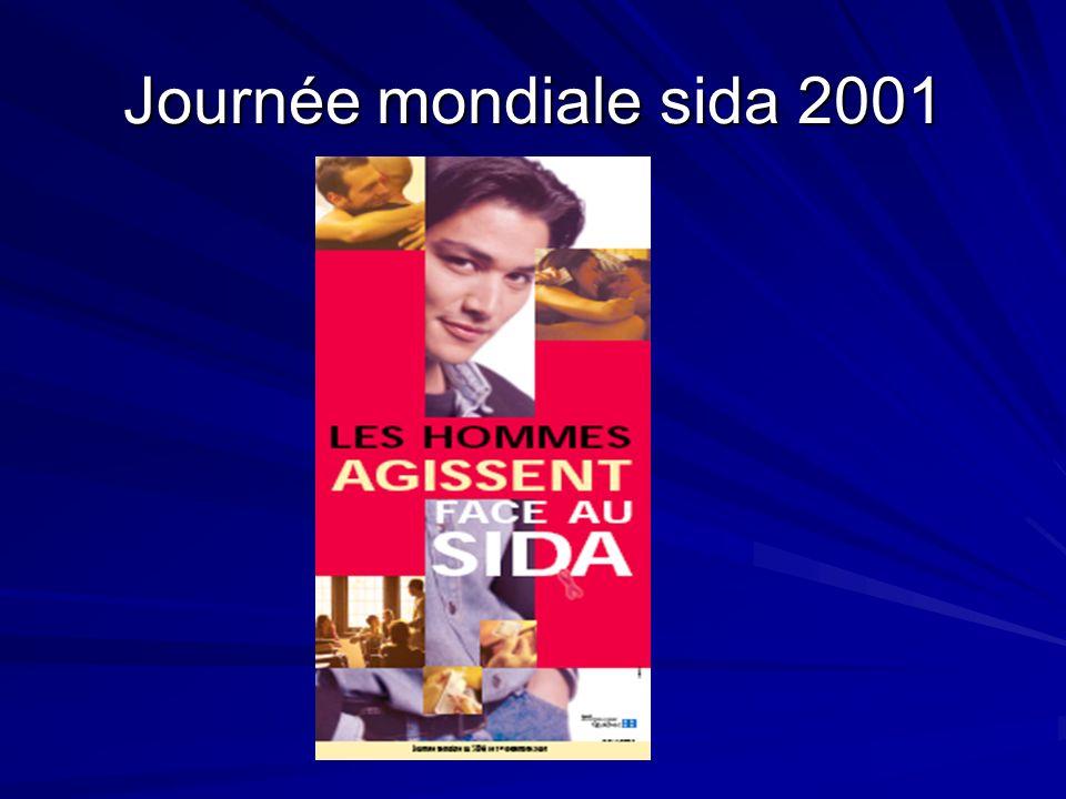 Journée mondiale sida 2001