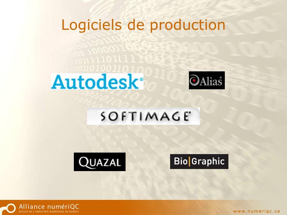 Logiciels de production