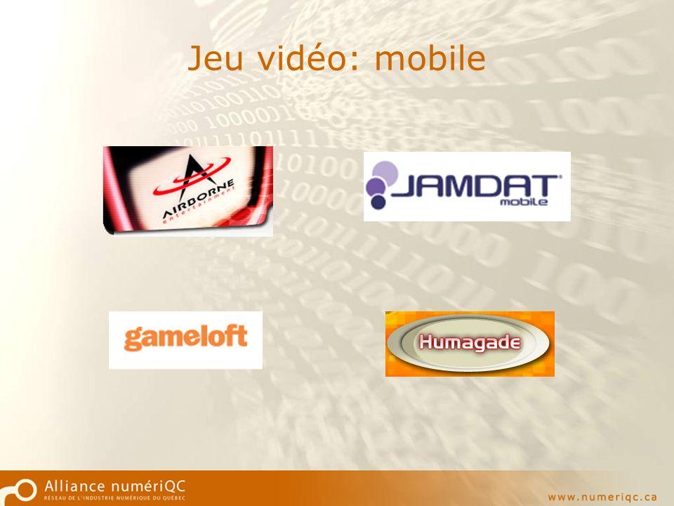 Jeu vidéo: mobile