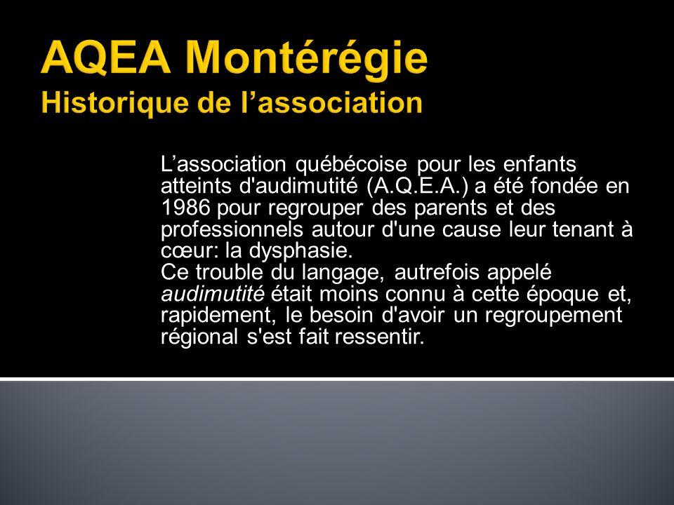 Être perçu comme la référence dans le domaine de la dysphasie, au Québec.