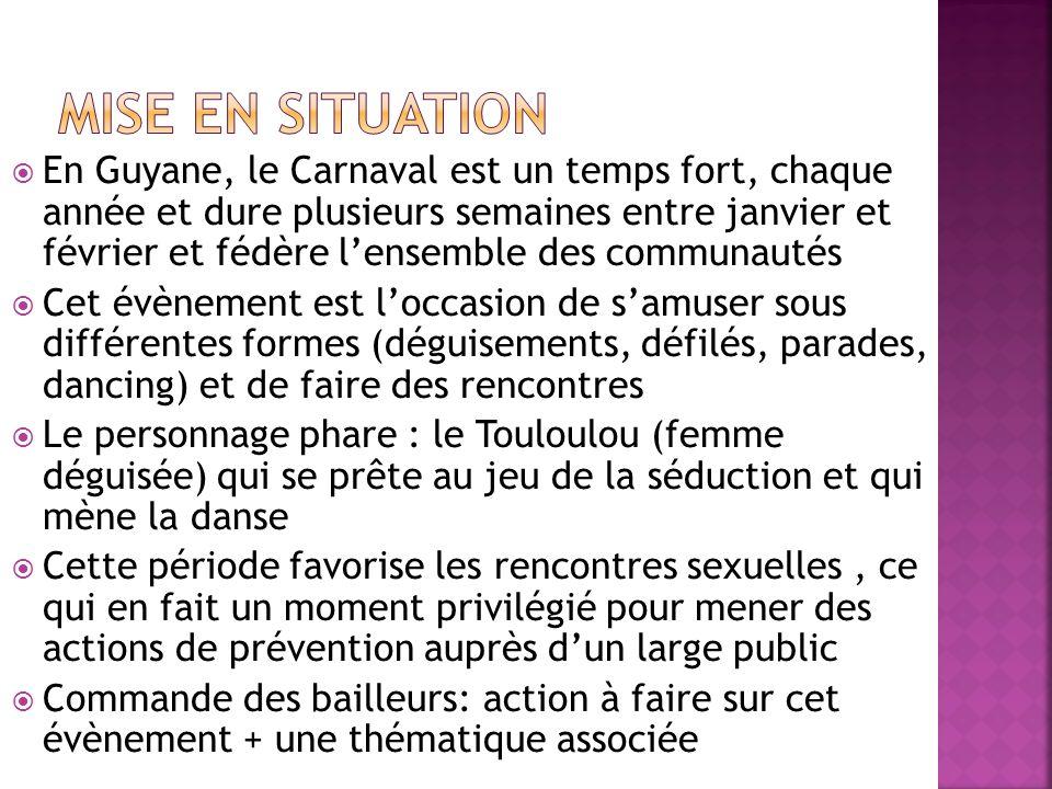 En Guyane, le Carnaval est un temps fort, chaque année et dure plusieurs semaines entre janvier et février et fédère lensemble des communautés Cet évè