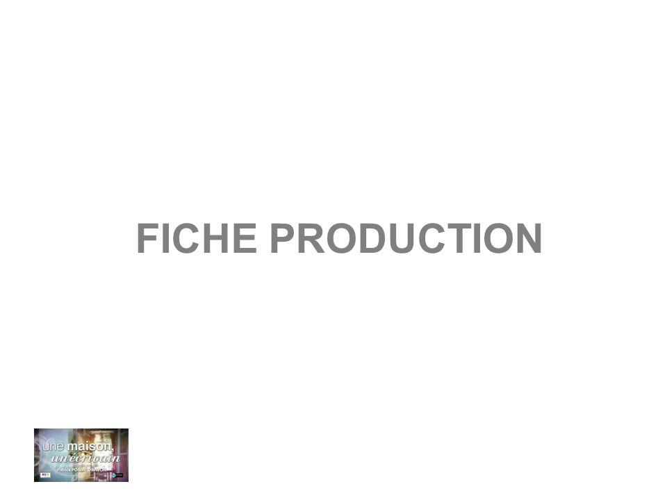 FICHE PRODUCTION
