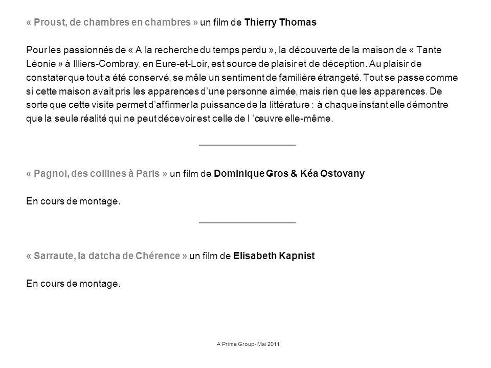 « Proust, de chambres en chambres » un film de Thierry Thomas Pour les passionnés de « A la recherche du temps perdu », la découverte de la maison de