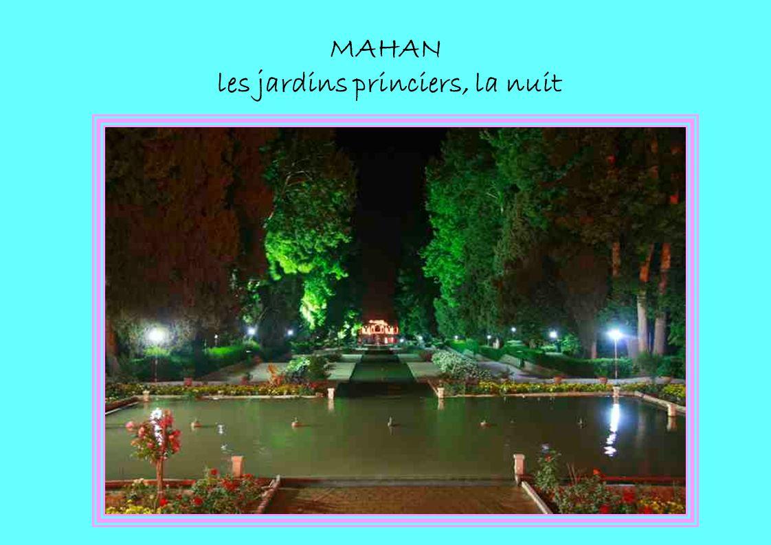 MAHAN les jardins princiers, la nuit