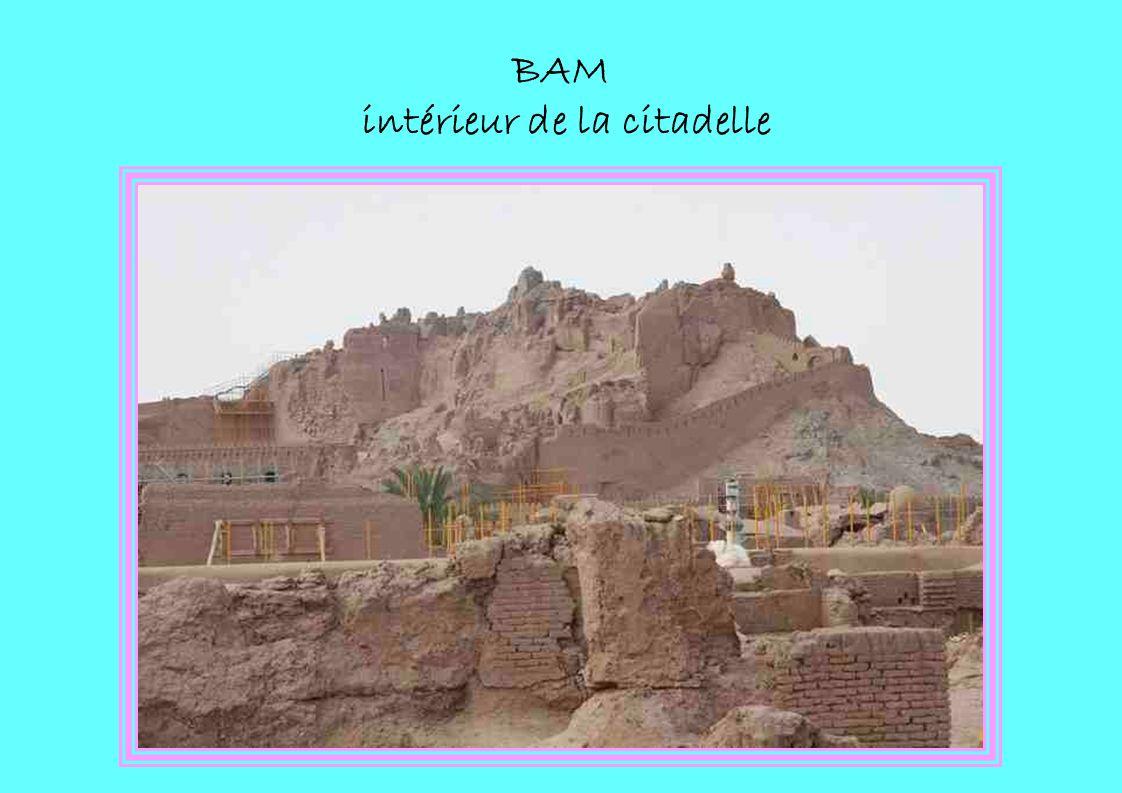 BAM intérieur de la citadelle