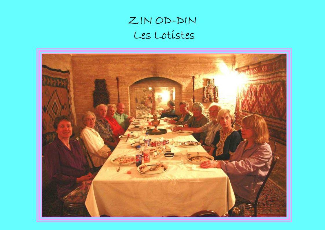 ZIN OD-DIN Les Lotistes