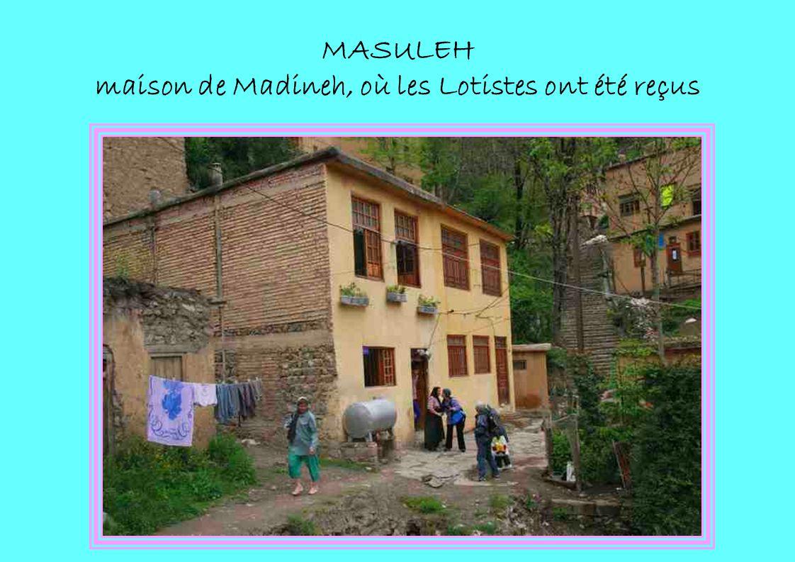 MASULEH maison de Madineh, où les Lotistes ont été reçus