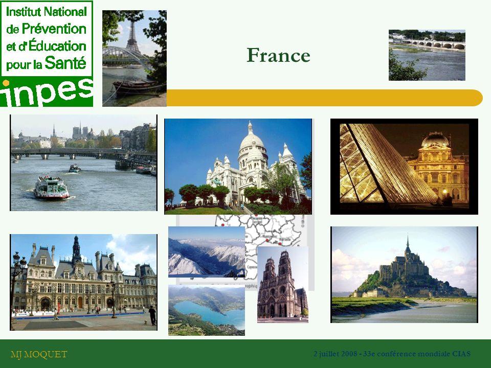 MJ MOQUET 2 juillet 2008 - 33e conférence mondiale CIAS France