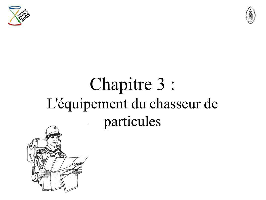 Chapitre 3 : L'équipement du chasseur de particules