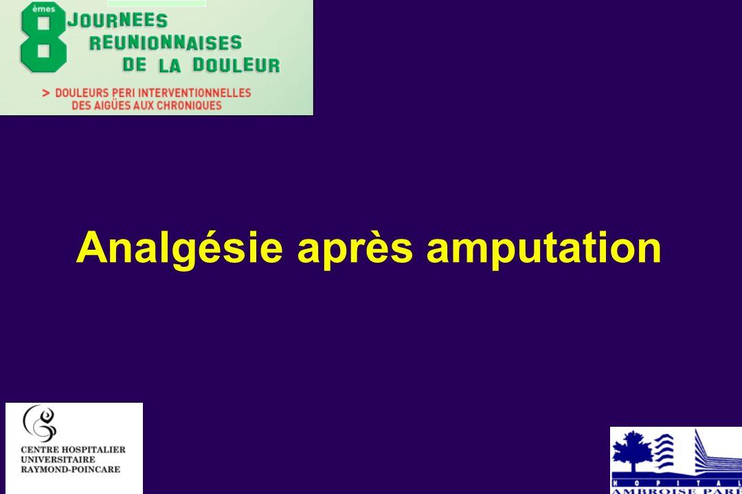 Chose digne d admiration et quasi in crédible : la douleur es parties mortes et amputées Ambroise Paré 1552