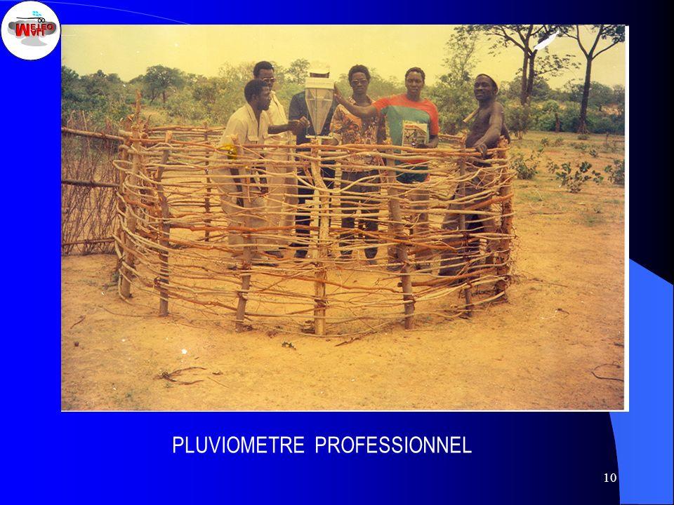 10 PLUVIOMETRE PROFESSIONNEL