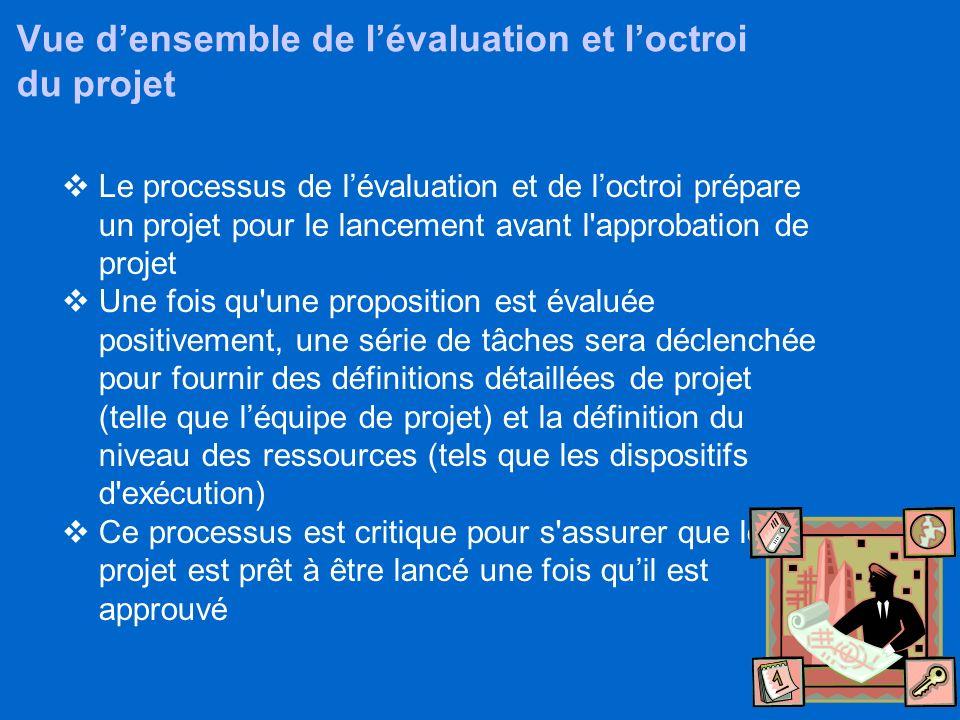 36 Agenda Objectifs Points dintegration Vue d'ensemble du processus Elaboration du Projet Evaluation & octroi (Award) Gestion des contributions Approb