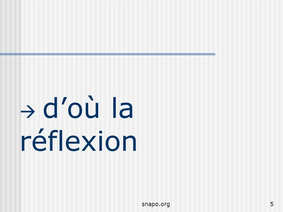snapo.org5 doù la réflexion