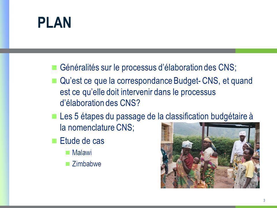 4 Généralités sur les CNS Les Comptes Nationaux de la Santé capture les dépenses totales de santé, tenant compte de la consommation finale.