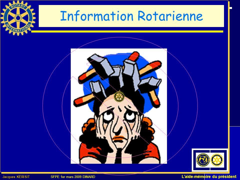 Jacques KÉRISIT Jacques KÉRISIT SFPE 1er mars 2009 DINARD Laide-mémoire du président Ce que contient ce support 1,36 Go 183 Dossiers – 1 649 Fichiers