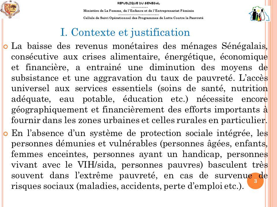 La baisse des revenus monétaires des ménages Sénégalais, consécutive aux crises alimentaire, énergétique, économique et financière, a entrainé une dim