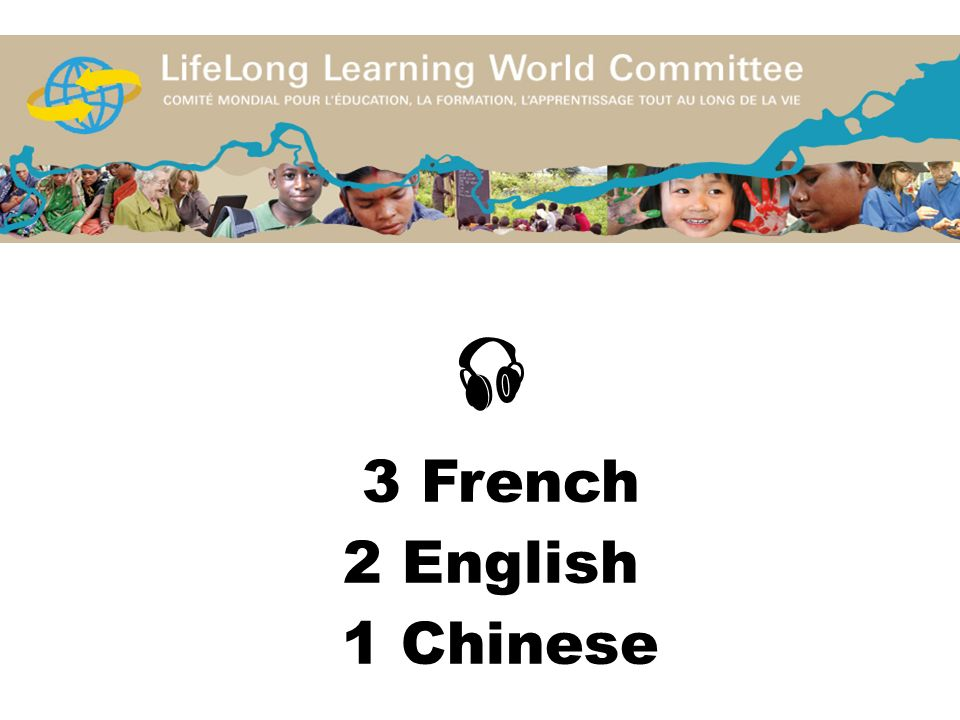 3 French 2 English 1 Chinese