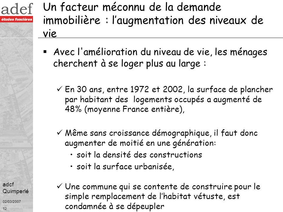 02/03/2007 Les données bretonnes