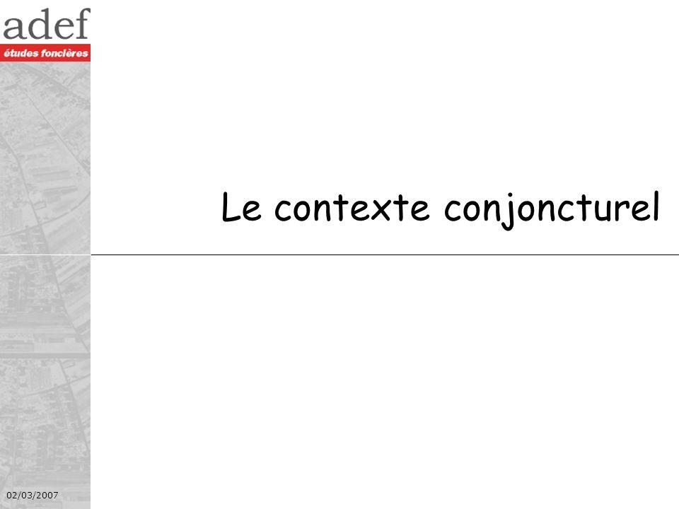 02/03/2007 3 adcf Quimperlé Une hausse sans précédent Source : J.