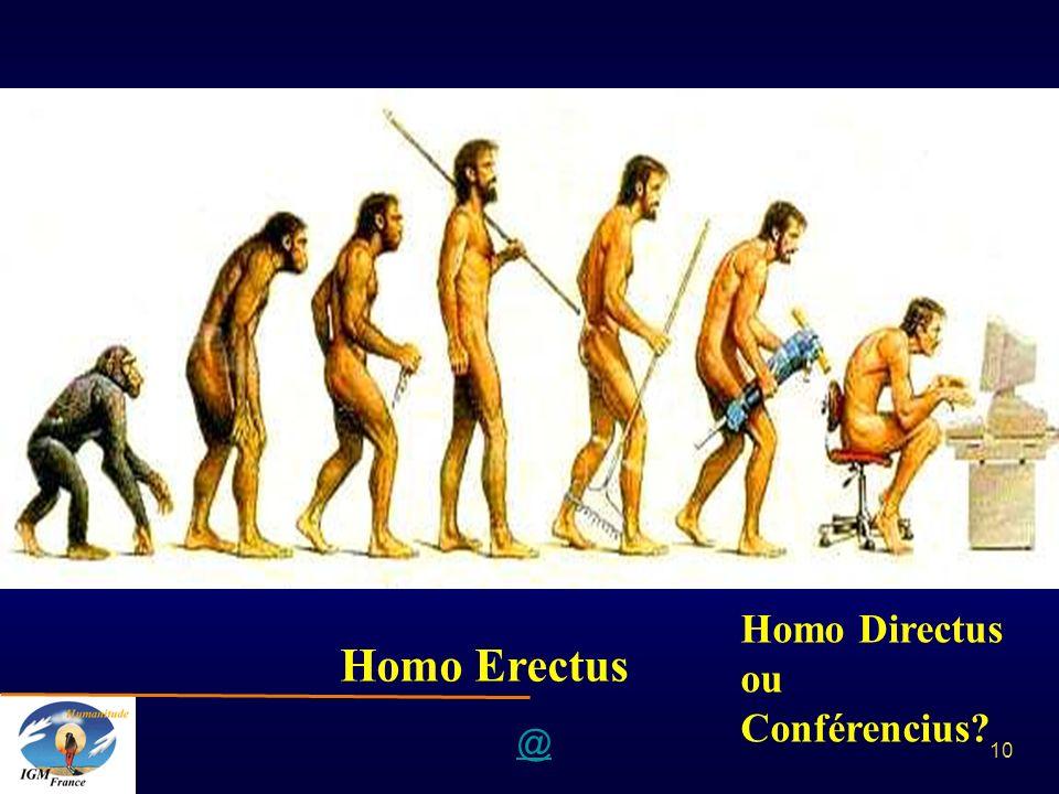 @ 10 Homo Erectus Homo Directus ou Conférencius?