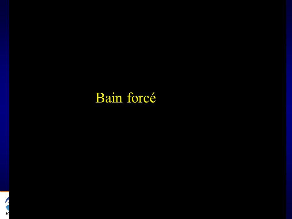 @ 5 Bain forcé