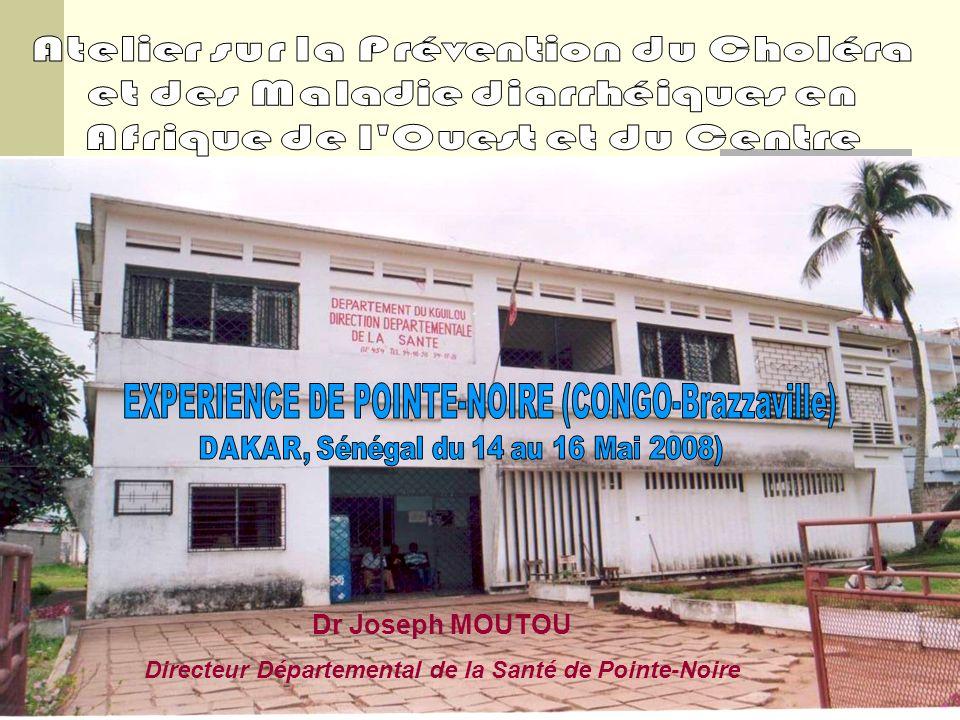 Dr Joseph MOUTOU Directeur Départemental de la Santé de Pointe-Noire