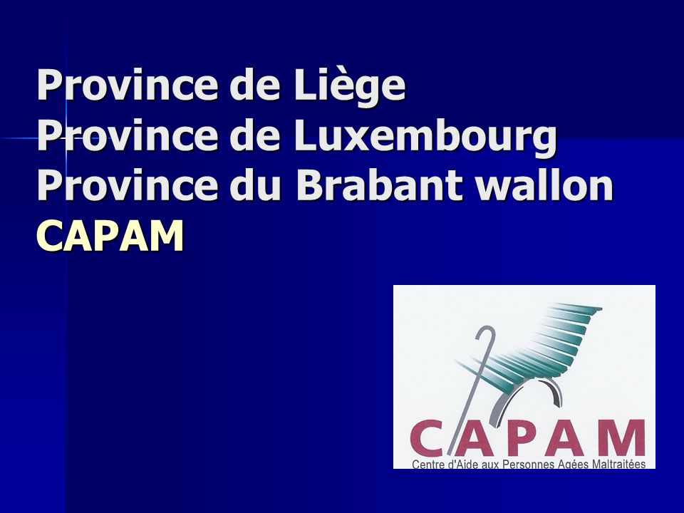 Province de Hainaut : E.M.P. AGE