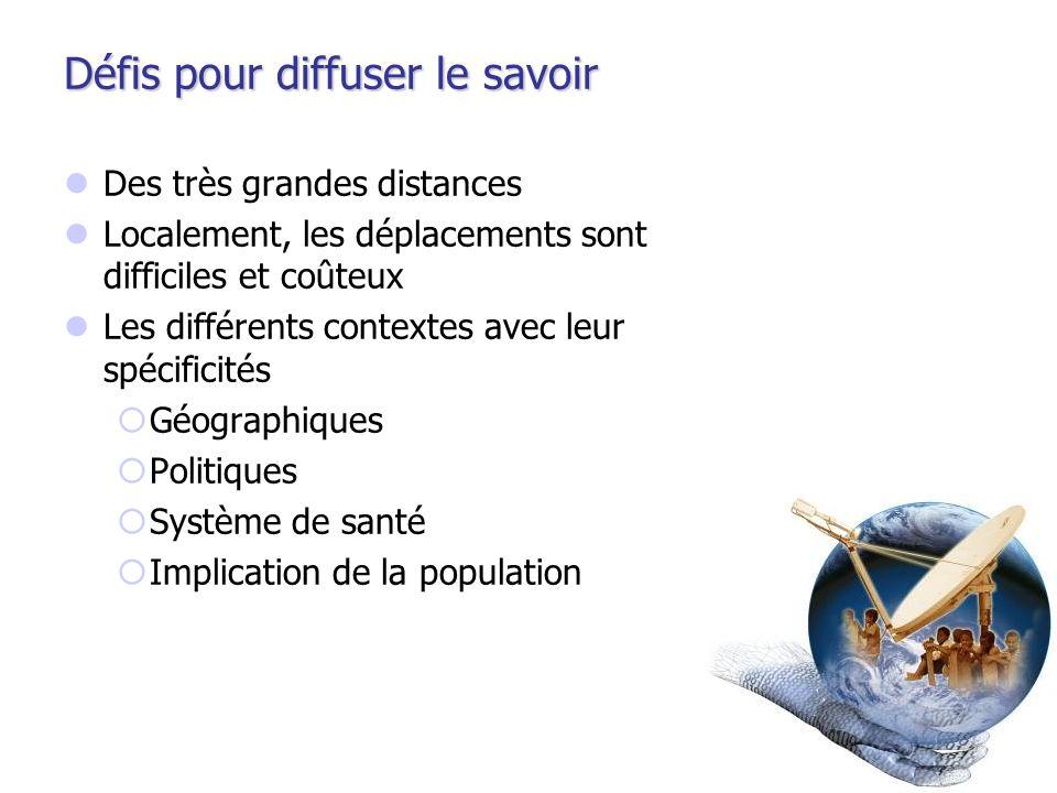Le Réseau en Afrique Francophone pour la Télémédecine « Soutenir les professionnels de la santé là où on en a le plus besoin » Professeur Antoine Geissbuhler En partenariat avec: