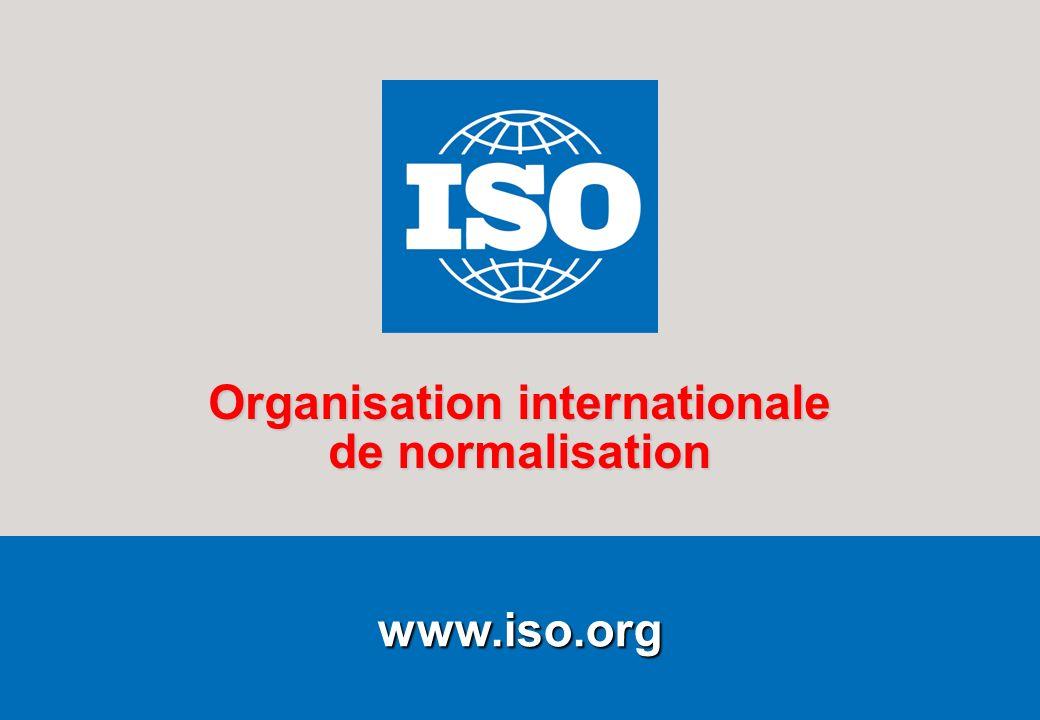 1Utiliser de précieuses ressources Février 2009 www.iso.org Organisation internationale de normalisation