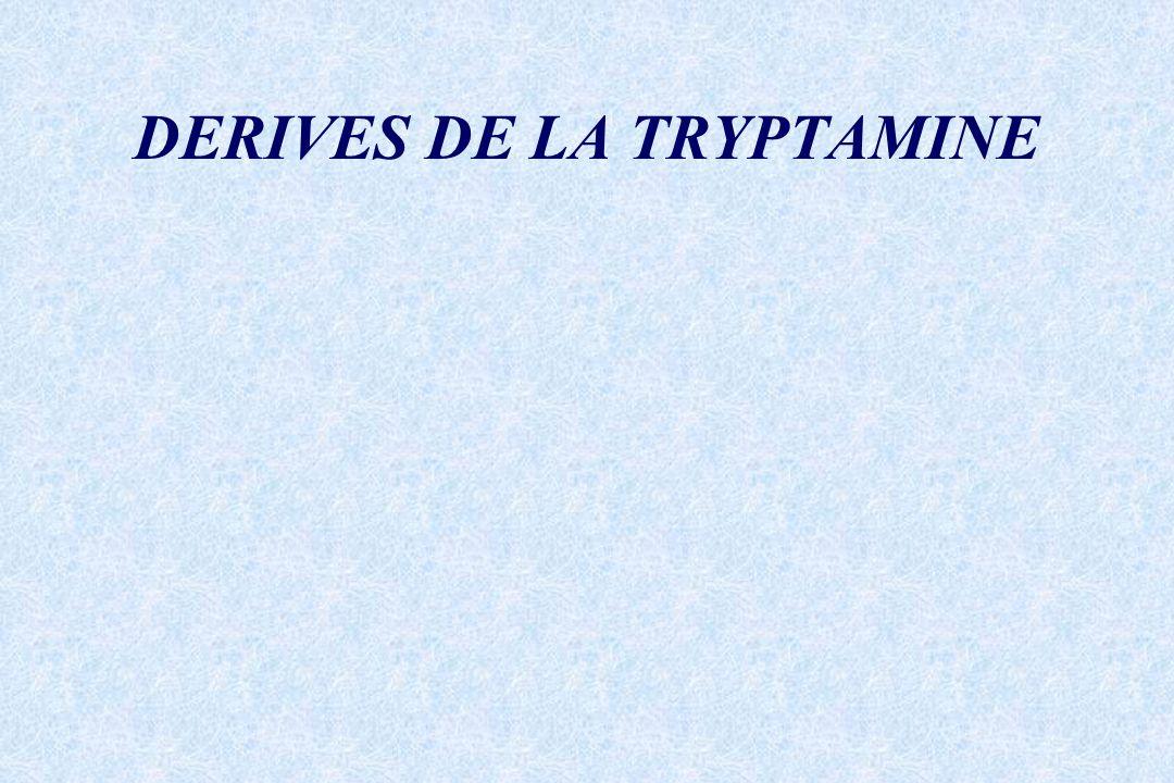 DERIVES DE LA TRYPTAMINE
