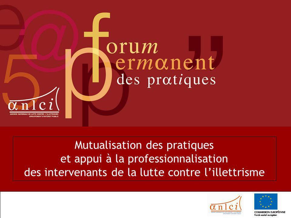OCDE - 30-10-06 1 Mutualisation des pratiques et appui à la professionnalisation des intervenants de la lutte contre lillettrisme