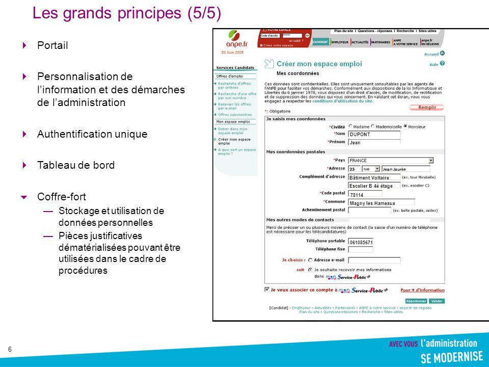 7 Michel Sapin, 2001 Nous avons en premier lieu décidé la généralisation des télé-services publics d ici 2005.
