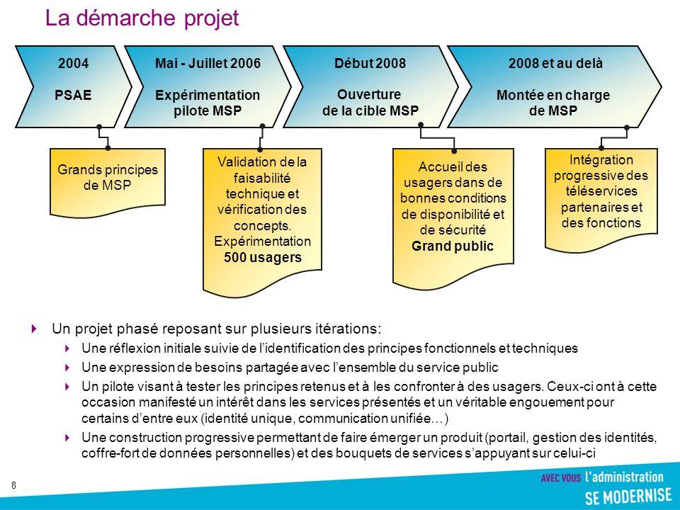 9 La France dans le « Top 5 » européen en matière dadministration électronique : Le 6ème rapport annuel sur les services publics en ligne en Europe, publié par la Commission européenne, mesure le nombre et le niveau de développement des services publics disponible en ligne.