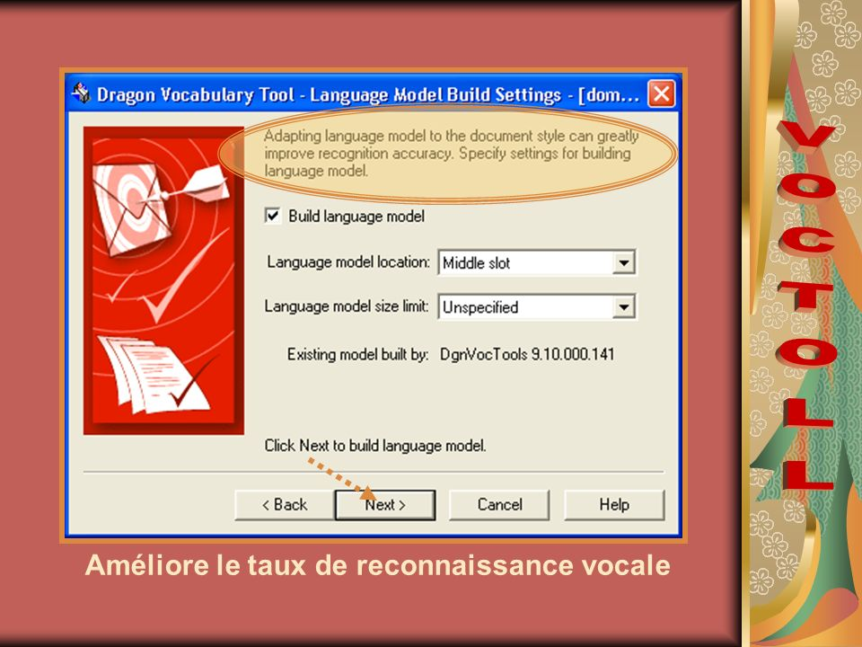 Améliore le taux de reconnaissance vocale