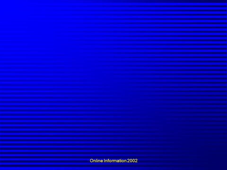 Online Information 2002
